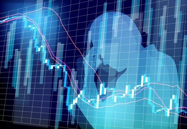 仮想通貨の下落
