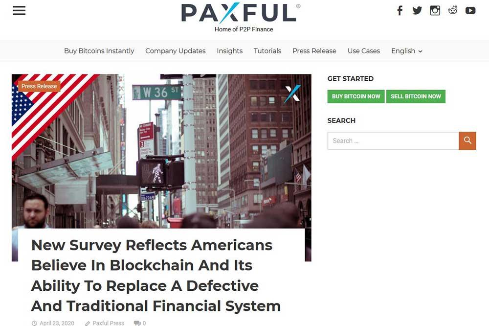 PAXFUL blog 仮想通貨の将来