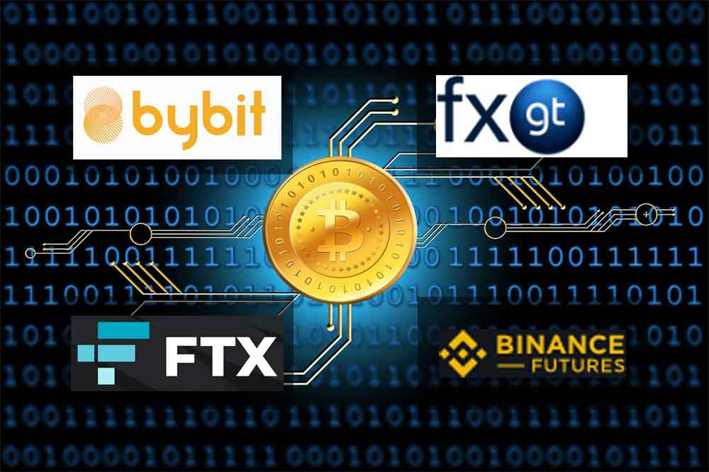 Bybit/FXGT/FTX/BinanceFuturesロゴイメージ