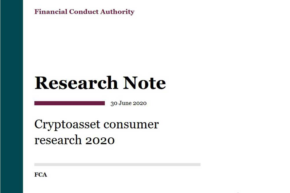 FCA Cryptoasset consumer research 2020