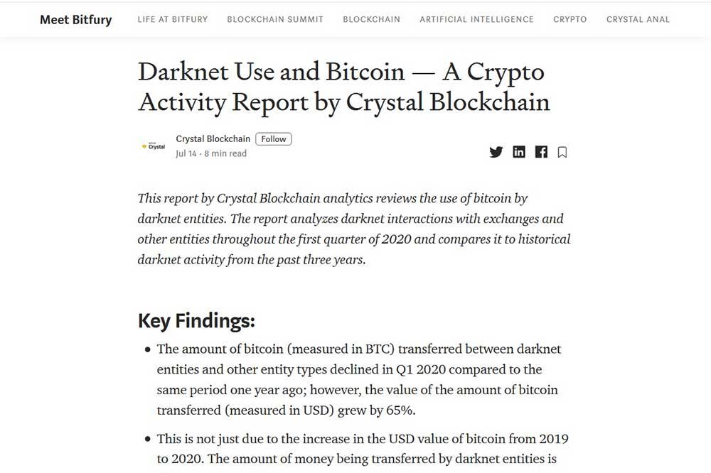 Crystal Blockchain blog