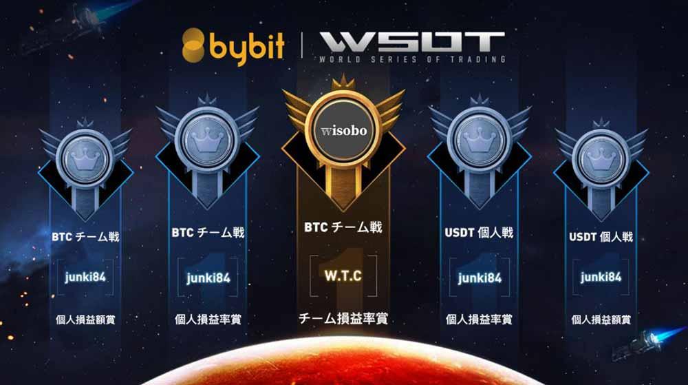 Bybit WSOT 各賞優勝者