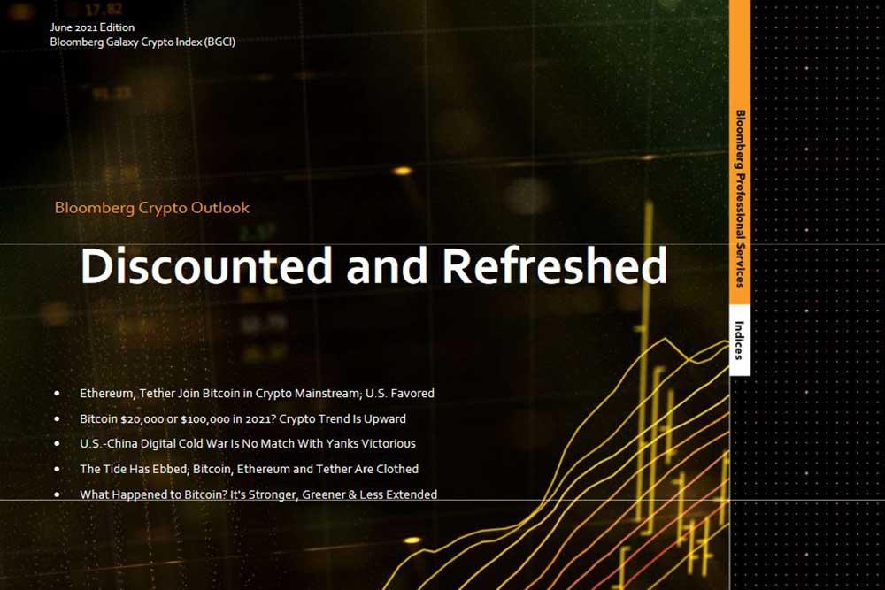 Bloomberg Galaxy Crypto Index 2021年6月版